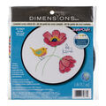 Dimensions Round Counted Cross Stitch Kit-Be Kind