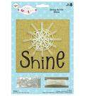 Little Makers Burlap String Art Kit- Shine