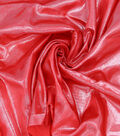 Glitterbug Liquid Satin Fabric -Red