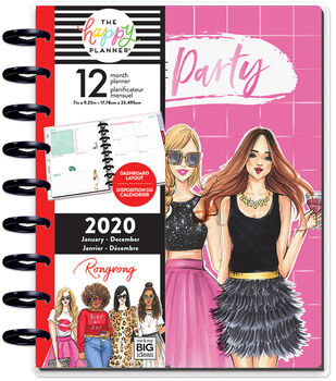 The Happy Planner x Rongrong Classic 2020 Planner-Life Of The Party
