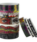 Dyan Reaveley\u0027s Dylusions Washi Tape Set-Set #4 - 7 Rolls