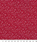 Quilter\u0027s Showcase Cotton Fabric-Flowers Red
