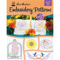 Aunt Martha\u0027s Colonial Patterns Iron-On Transfer Books Fanciful Flowers