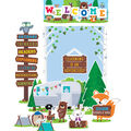 Creative Teaching Press Woodland Friends Bulletin Board Set-Welcome