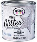 Testors 8 oz. Intense Glitter Paint-Silver