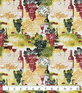 Snuggle Flannel Fabric-Wine Country