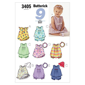 Butterick Infants Dress-B3405