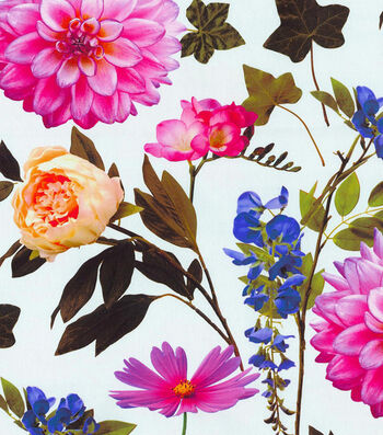 "Waverly Upholstery Fabric 45""-Work Of Art/Summer"