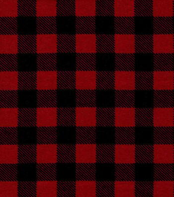 Quilter's Showcase Flannel Fabric 43''-Red Buffalo Plaid