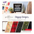 Park Lane Paperie 34 pk Printed Cardstock Collection Pad-Happy Camper
