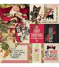 Nostalgia Double-Sided Cardstock 12\u0022X12\u0022-#12 Pet Christmas Cut-Aparts