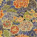Waverly Upholstery Fabric 54\u0022-Pieceful Porcelain