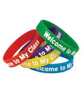 Teacher Created Resources Welcome to My Class Wristbands, 10 Per Pack
