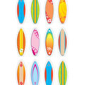 Teacher Created Resources Surfboards Mini Accents, 36 Per Pack, 6 Packs