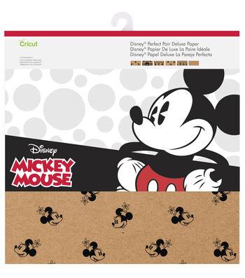 Cricut 12 Pack 12''x12'' Disney Perfect Pair Deluxe Paper