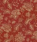 Waverly Multi-Purpose Decor Fabric 56\u0022-Everard Damask Ruby