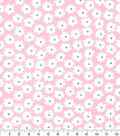 Nursery Flannel Fabric-Hanna Pink Floral