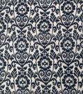 Home Decor 8\u0022x8\u0022 Fabric Swatch-Upholstery Fabric Eaton Square Herald Navy