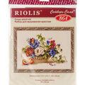 RIOLIS 11.75\u0027\u0027x9.5\u0027\u0027 Counted Cross Stitch Kit-Still Life with Peach