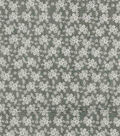 Vintage Cotton Fabric 43\u0022-Ditsy Floral Herringbone