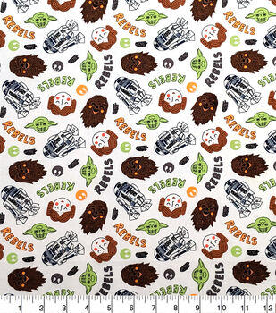 Star Wars Cotton Fabric-Become a Rebel