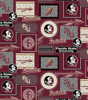 College Teams Florida State Seminoles Cotton Fabric 44''-Packed Patches, , hi-res