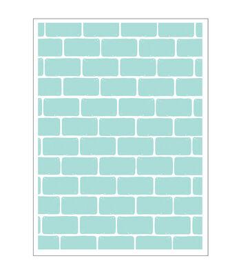 Park Lane A2 Embossing Folder-Brick