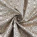 Yaya Han Cosplay Foiled Geometric Brocade Fabric-Metallic