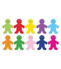 Die Cut Accents 7in Rainbow People 30/pk, Set of 6 Packs