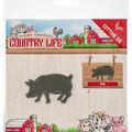 Yvonne Creations Country Life 2.13\u0027\u0027x1.38\u0027\u0027 Cutting Die-Pig