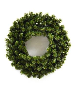 Handmade Holiday Christmas 24'' Canadian Pine Wreath