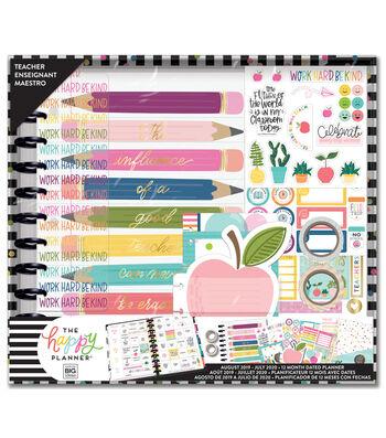 The Happy Planner 12 Month Dated Big Planner Box-Teacher
