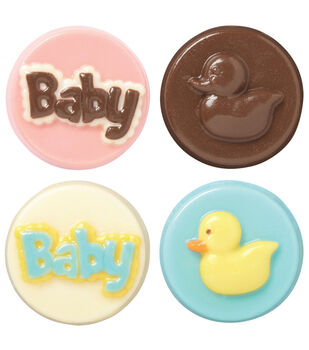Wilton Cookie Candy Mold-Baby