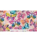 Anti-Pill Fleece Fabric 59\u0022-Butterflies