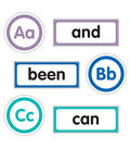 Just Teach Word Wall Bulletin Board Set