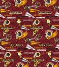 Washington Redskins Cotton Fabric-Retro