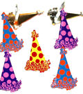 Eyelet Outlet Shape Brads-Party Hat