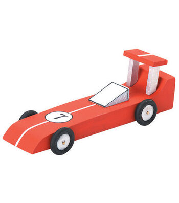 "Darice Wood Model Kit-Race Car 6.25""X2.125"""