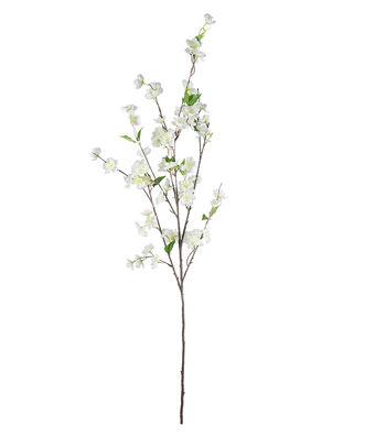 Fresh Picked Spring 48'' Cherry Blossom Spray-White