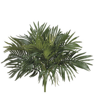 "16"" Parlor Palm Bush with O Twig Green"