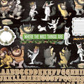 Where The Wild Things Are Cardstock Stickers 12\u0022X12\u0022