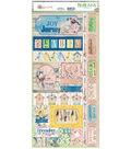 Serendipity Cardstock Stickers 6\u0022X13\u0022