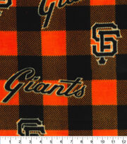 San Francisco Giants Fleece Fabric-Buffalo Plaid, , hi-res