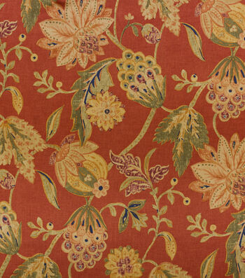 Richloom Multi-Purpose Decor Fabric-Capulet Lacquer