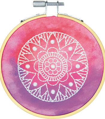 Dimensions Mini Embroidery Kit-Mandala Stitched in Thread