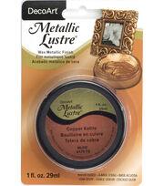DecoArt Metallic Lustre 1 fl. oz. Wax-Copper Kettle, , hi-res