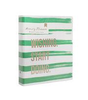 American Crafts Memory Planner Binder-Stripes, , hi-res