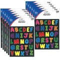 Carson Dellosa Alphabet Shape Stickers 12 Packs