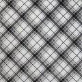 Sew Lush Fabric-Gray Mint Bias Plaid