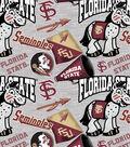 Florida State University Seminoles Cotton Fabric-Collegiate Mascot